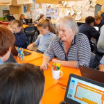 Behind the screens at a fully digital school